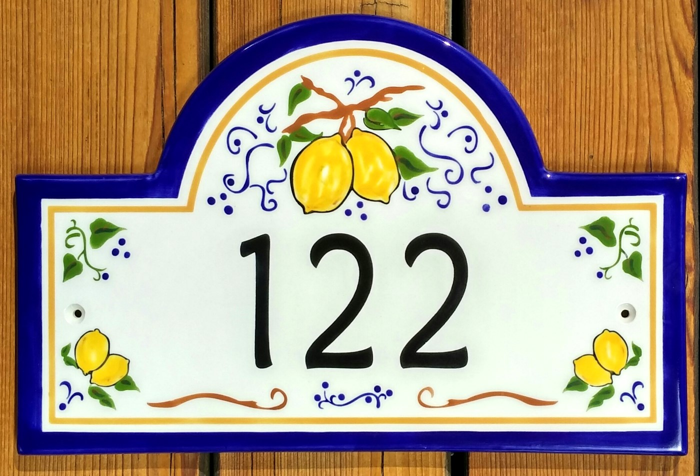 Lemons from Umbria House Numbers 2016